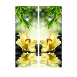 Орхидея над водой - Модульная картины, Репродукции, Декоративные панно, Декор стен