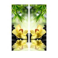 Портреты картины репродукции на заказ - Орхидея над водой