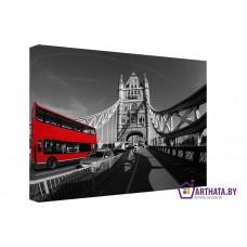 Картина на холсте по фото Модульные картины Печать портретов на холсте Дорога через мост
