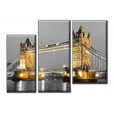 Картина на холсте по фото Модульные картины Печать портретов на холсте Tower Bridge