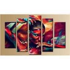 Картина на холсте по фото Модульные картины Печать портретов на холсте Модульная картина на постерной бумаге - 5m-174