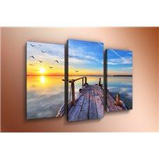 Картина на холсте по фото Модульные картины Печать портретов на холсте Модульная картина на постерной бумаге - m-000346