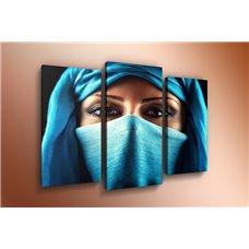 Картина на холсте по фото Модульные картины Печать портретов на холсте Модульная картина на постерной бумаге - m-000123