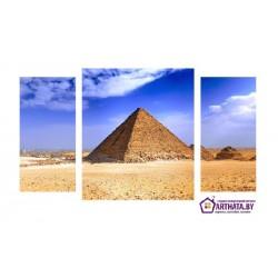 Египетские пирамиды - Модульная картины, Репродукции, Декоративные панно, Декор стен