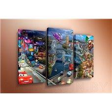Картина на холсте по фото Модульные картины Печать портретов на холсте Модульная картина на постерной бумаге - m-002498