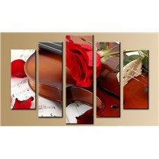 Картина на холсте по фото Модульные картины Печать портретов на холсте Модульная картина на постерной бумаге - 5m-745