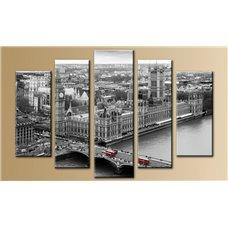 Картина на холсте по фото Модульные картины Печать портретов на холсте Модульная картина на постерной бумаге - 5m-221
