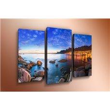 Картина на холсте по фото Модульные картины Печать портретов на холсте Модульная картина на постерной бумаге - m-000151