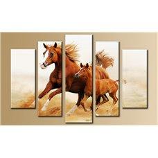 Картина на холсте по фото Модульные картины Печать портретов на холсте Модульная картина на  акриле - 5m-682