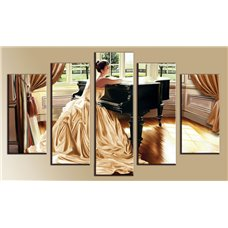 Картина на холсте по фото Модульные картины Печать портретов на холсте Модульная картина на  акриле - 5m-314