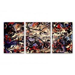 Фото на холсте Печать картин Репродукции и портреты - Абстракция - Триптих