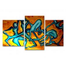 Картина на холсте по фото Модульные картины Печать портретов на холсте Древние танцы