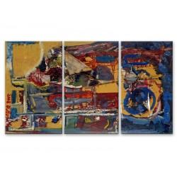 Брызги красок - Модульная картины, Репродукции, Декоративные панно, Декор стен