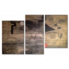Картина на холсте по фото Модульные картины Печать портретов на холсте Дерево