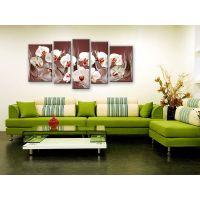 Портреты картины репродукции на заказ - Белая орхидея
