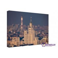 Картина на холсте по фото Модульные картины Печать портретов на холсте Москва индустриальная