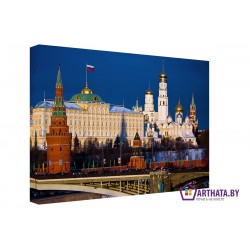 Москва златоглавая - Модульная картины, Репродукции, Декоративные панно, Декор стен
