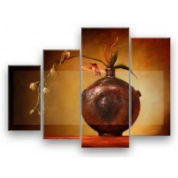 Птица и ваза - Модульная картины, Репродукции, Декоративные панно, Декор стен