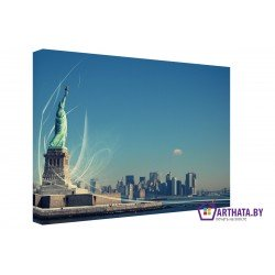 Ветер свободы - Модульная картины, Репродукции, Декоративные панно, Декор стен