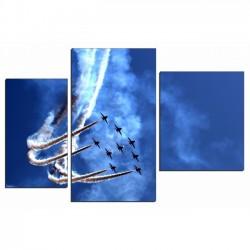 Высший пилотаж - Модульная картины, Репродукции, Декоративные панно, Декор стен