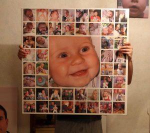 Ребенок фотоколлаж