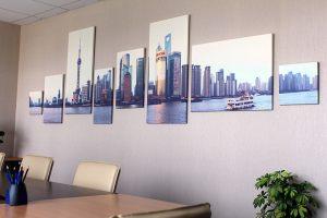 Картина из нескольких частей - Город