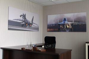 Картина с самолетами