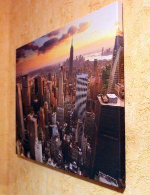 Картина на холсте - Город