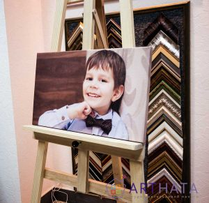 Детская фотография на холсте