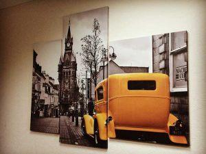 modylnaya-kartina-zheltoe-taksi