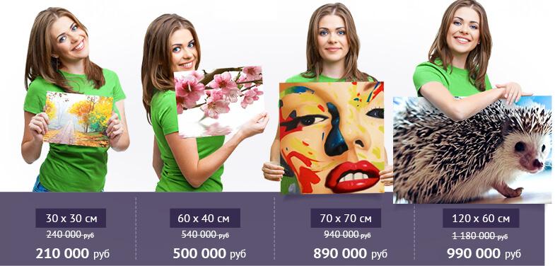 Цены и размеры