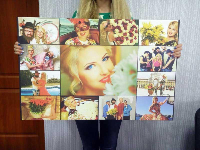 как сделать плакат из портрета фото родом