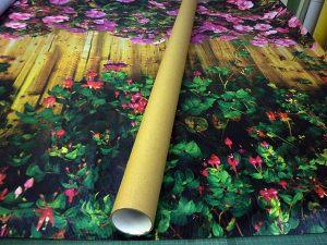 Печать на сетке и фотосетке