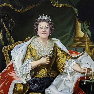 Картина в образе императицы