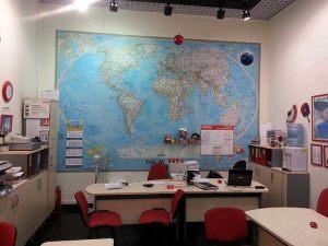 Карта для офиса