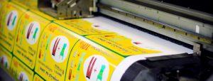 Печать стикеров и наклеек
