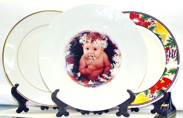 обсудим, где фотопечать на тарелках с полным заполнением пожелания днем
