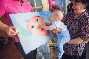 Портрет ребенка картина на холсте