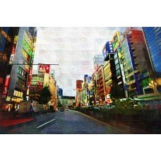 Фотообои - Цветные здания