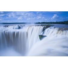 Фотообои - Водопад в облаках