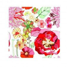 Фотообои - Винтажный цветочный узор