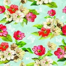Фотообои - Нарисованные цветы