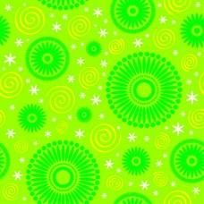 Фотообои - Зеленый круги