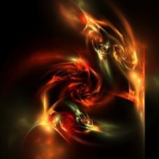 Фотообои - Вихри огня
