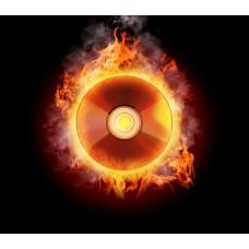 Фотообои - Огненный диск