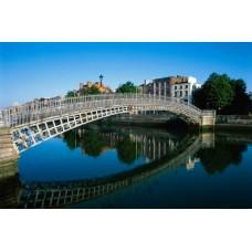 Фотообои - Мост в Дублине