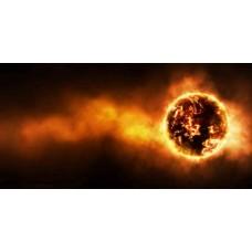Фотообои - Взрыв Солнца