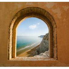 Фотообои - Океан за окном