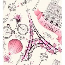 Фотообои - Париж для девочек