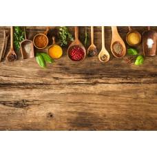 Фотообои - Деревянный стол